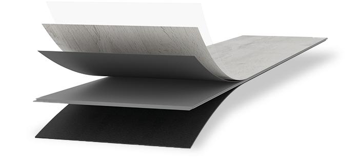 Meister Vinylboden MeisterDesign. rigid RD 300 S Aufbau