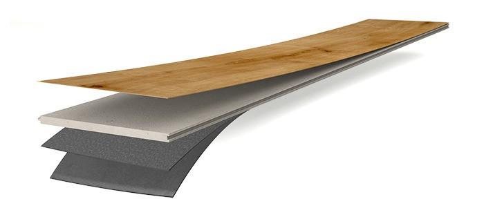 Meister Designboden Catega® Flex DD 300 S Aufbau