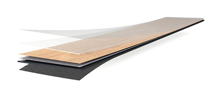 Forbo Flooring Klebevinyl Allura Wood Domestic 0,30 Aufbau