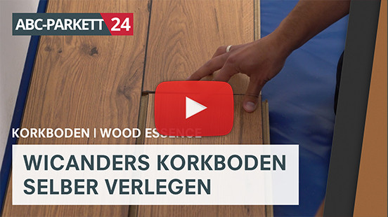 Wicanders Design Kork Artcomfort Wood Eiche Gekalkt Ivory Abc