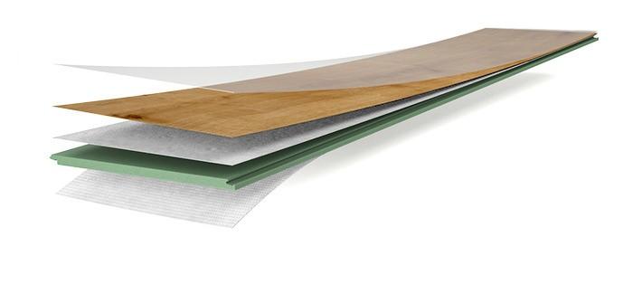 Wineo Designboden wineo 1000 wood zum Klicken zum Klicken Aufbau