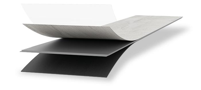Meister Vinylboden MeisterDesign. rigid RB 400 S Aufbau