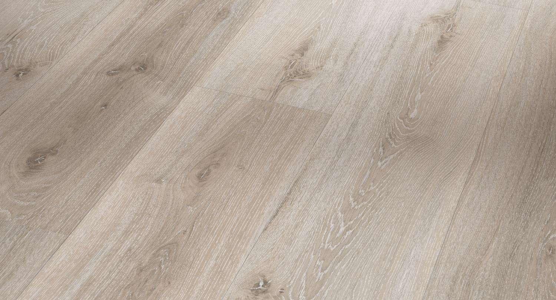 Top Parador Vinyl Classic 2030 Eiche Royal Weiß Gekälkt Holzstruktur AO54
